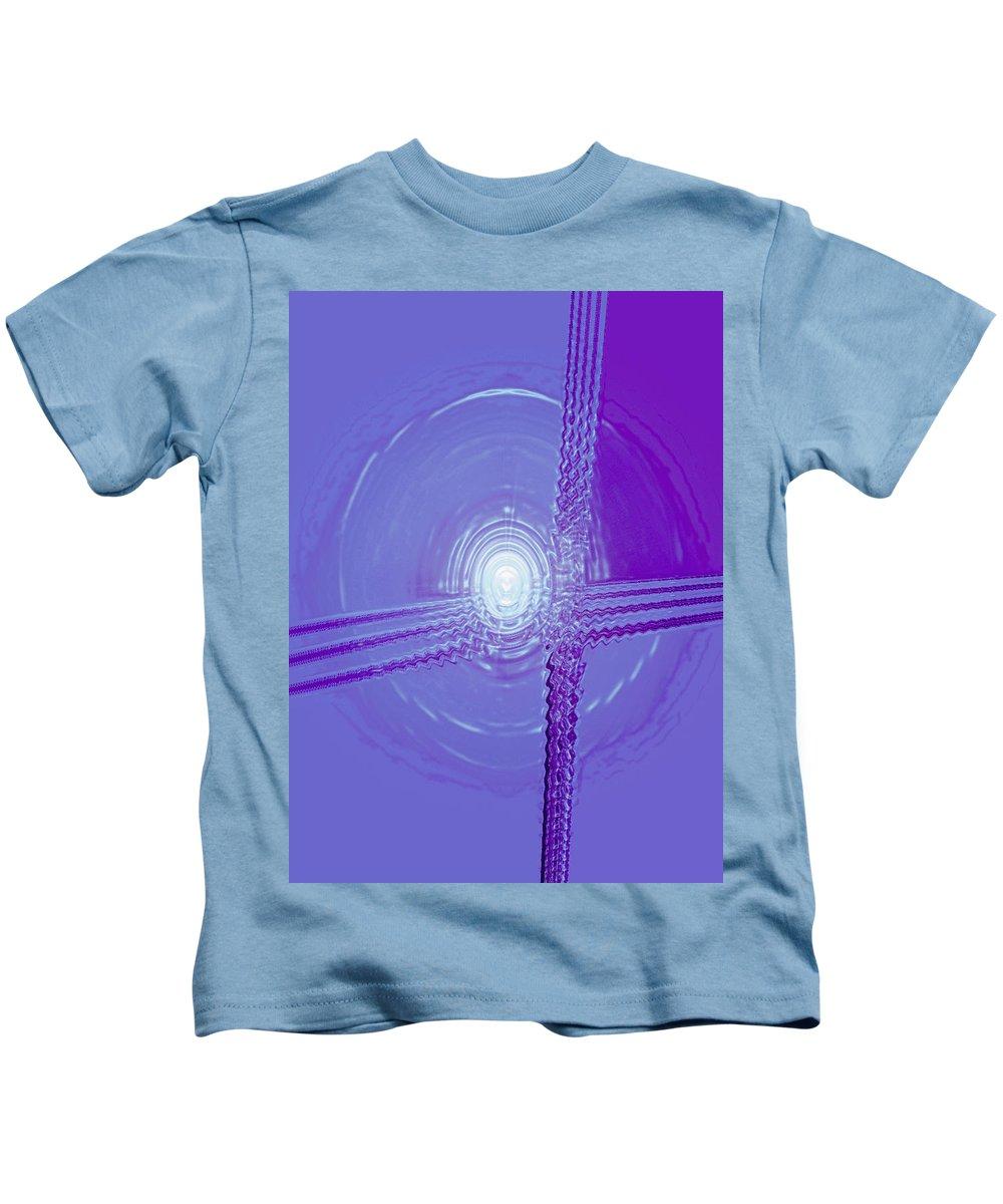 Moveonart! Digital Gallery Kids T-Shirt featuring the digital art Moveonart Shift In Time 3 by Jacob Kanduch
