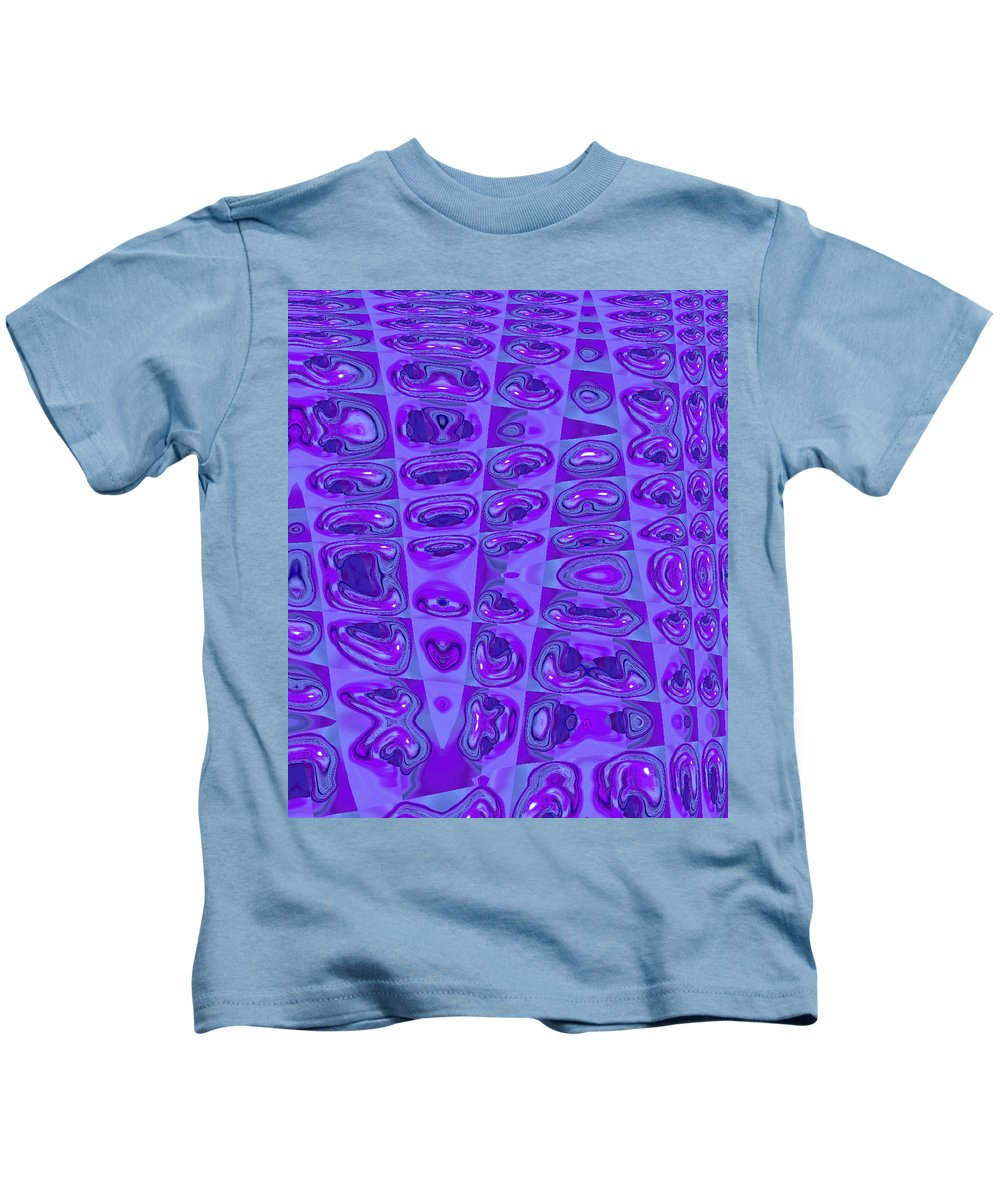 Moveonart! Digital Gallery Kids T-Shirt featuring the digital art Moveonart Touched 7 by Jacob Kanduch