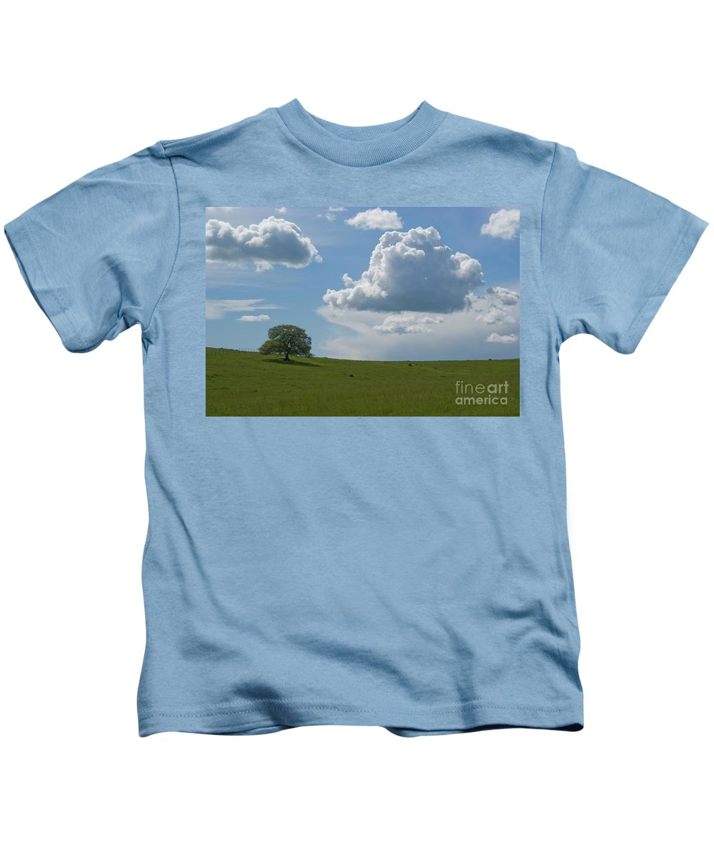 Oak Kids T-Shirt featuring the photograph Oak After Storm by Jim And Emily Bush