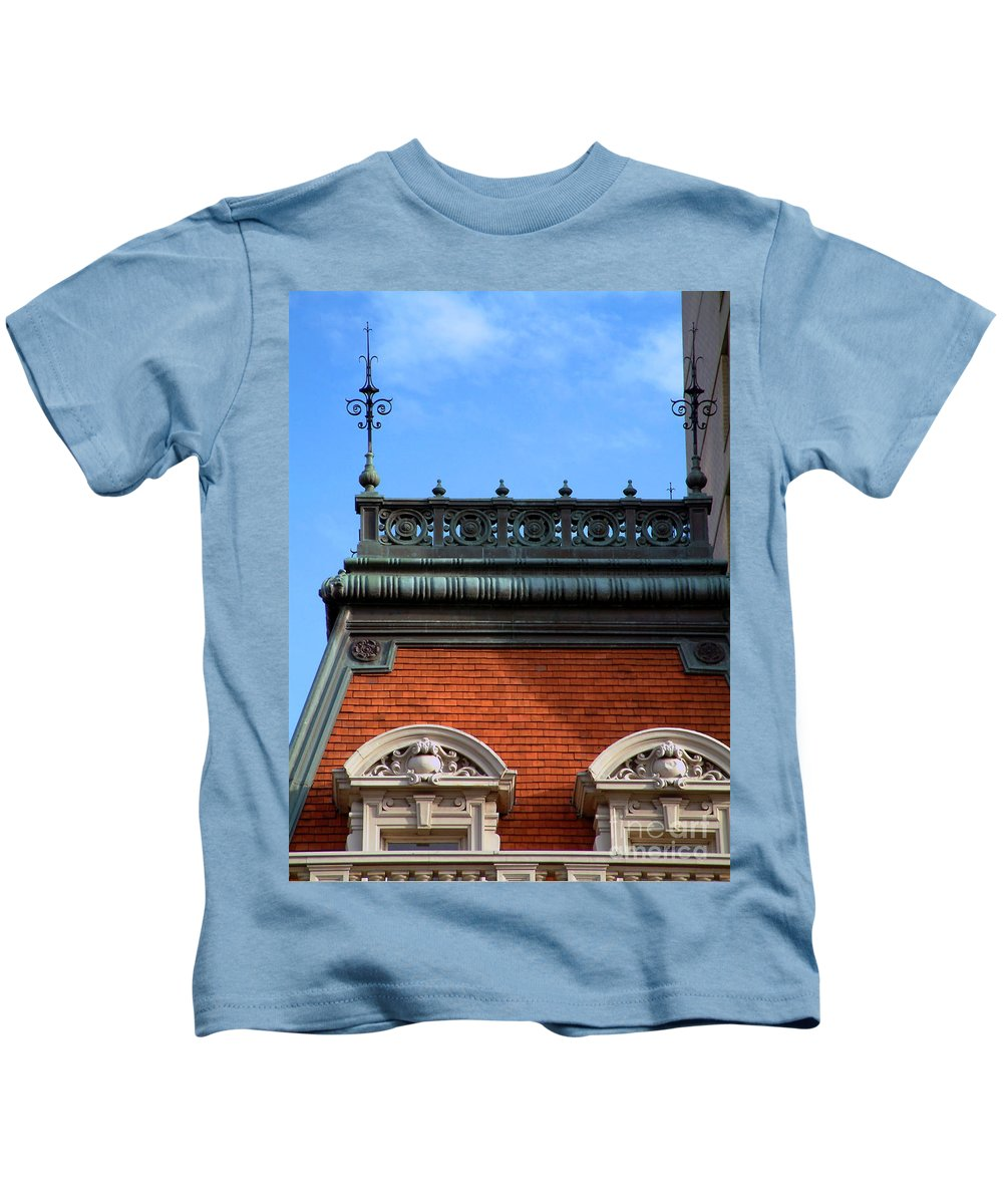 Apartment Kids T-Shirt featuring the photograph On A Clear Day by RC DeWinter