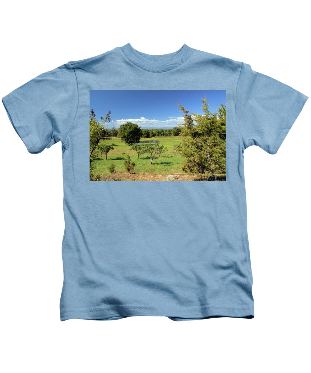 Orchard Kids T-Shirt featuring the photograph Orchard 1 H by Robert McCulloch
