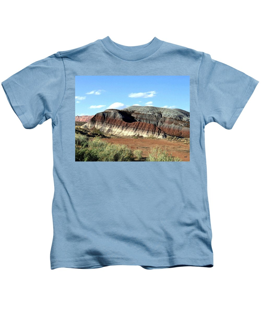 Arizona Kids T-Shirt featuring the photograph Painted Desert by Will Borden