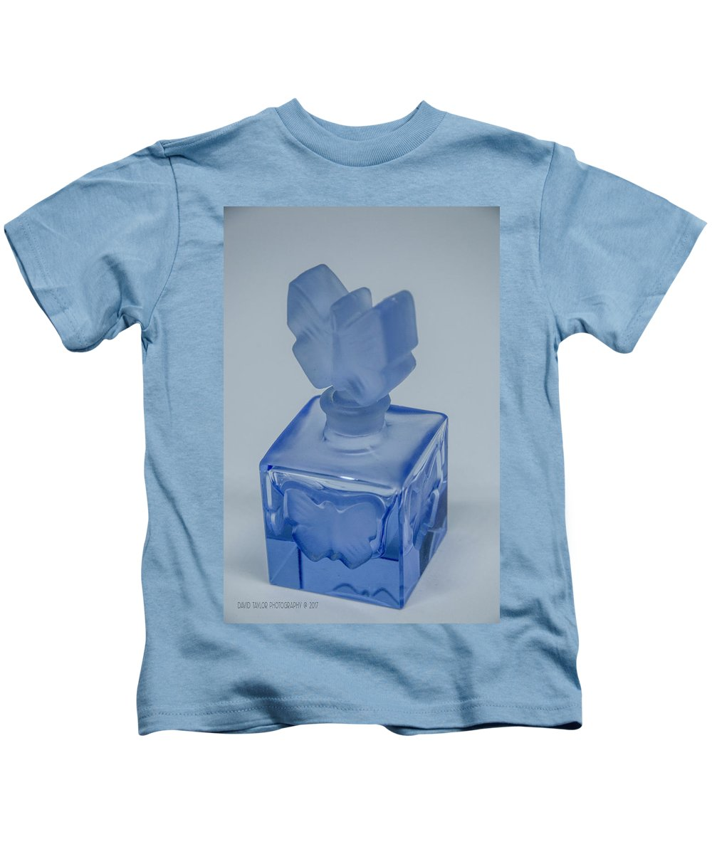 Perfume Bottle Kids T-Shirt featuring the photograph Perfume Bottle Collection_4 by David Taylor