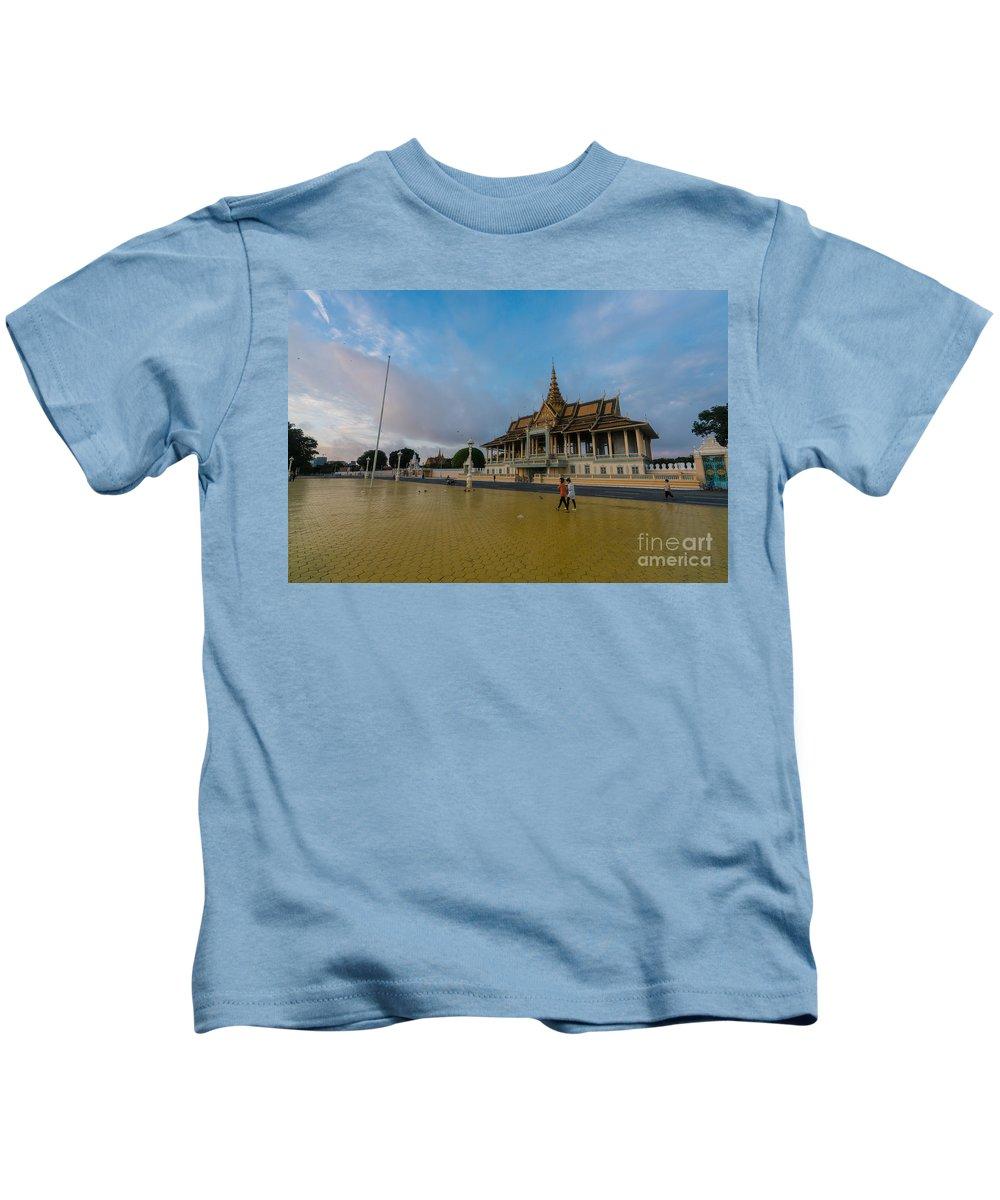 Phnom Penh Photographs Kids T-Shirts