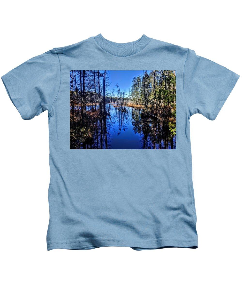 Landscape Kids T-Shirt featuring the photograph Pinelands by Paul Kercher