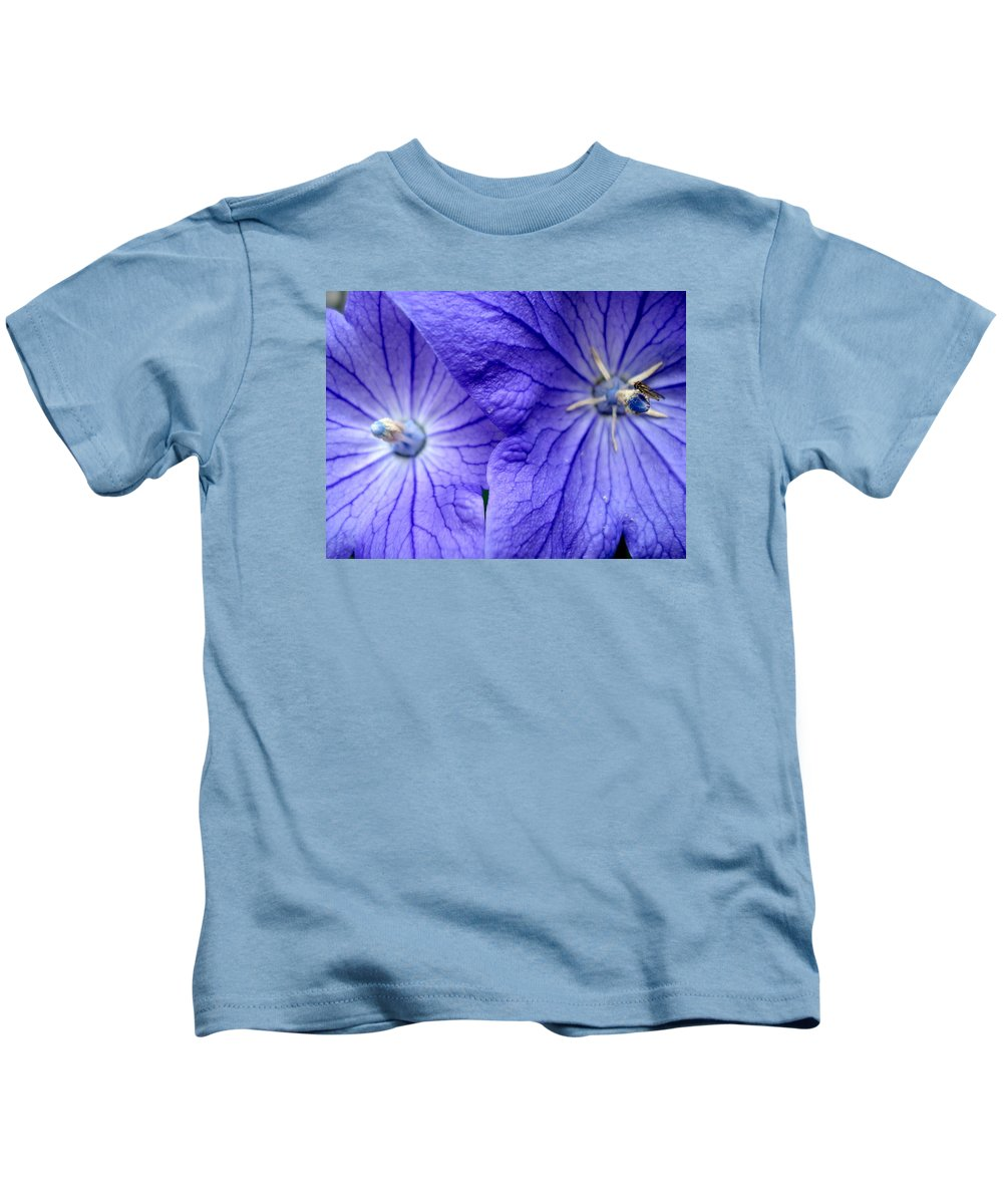 Flowers Kids T-Shirt featuring the photograph Powder 2 by Nelson F Martinez