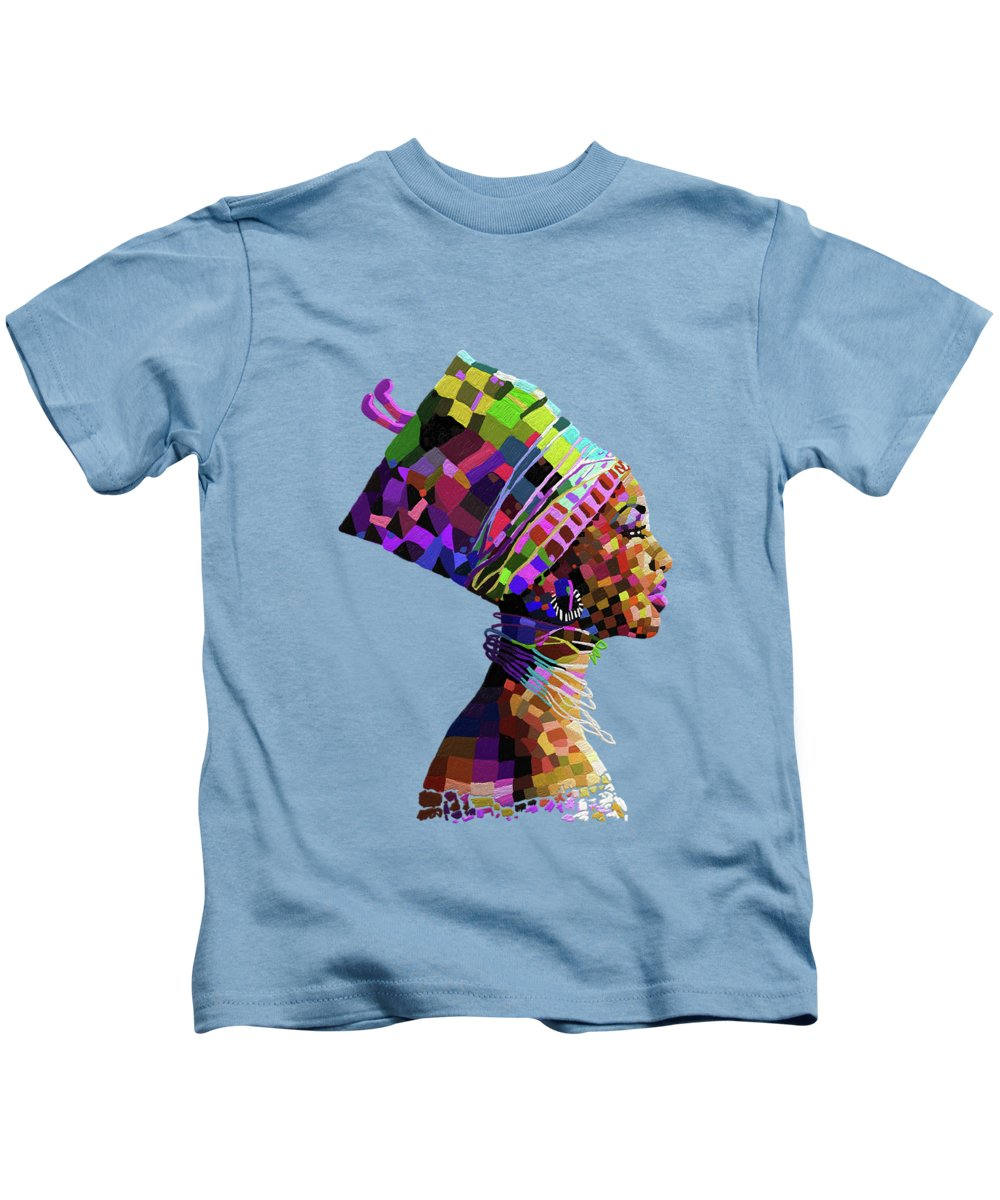 Ancient Egypt Paintings Kids T-Shirts