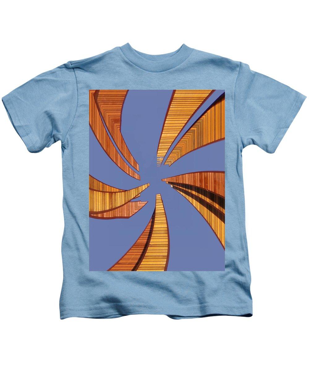Seattle Kids T-Shirt featuring the digital art Reeds 2 by Tim Allen