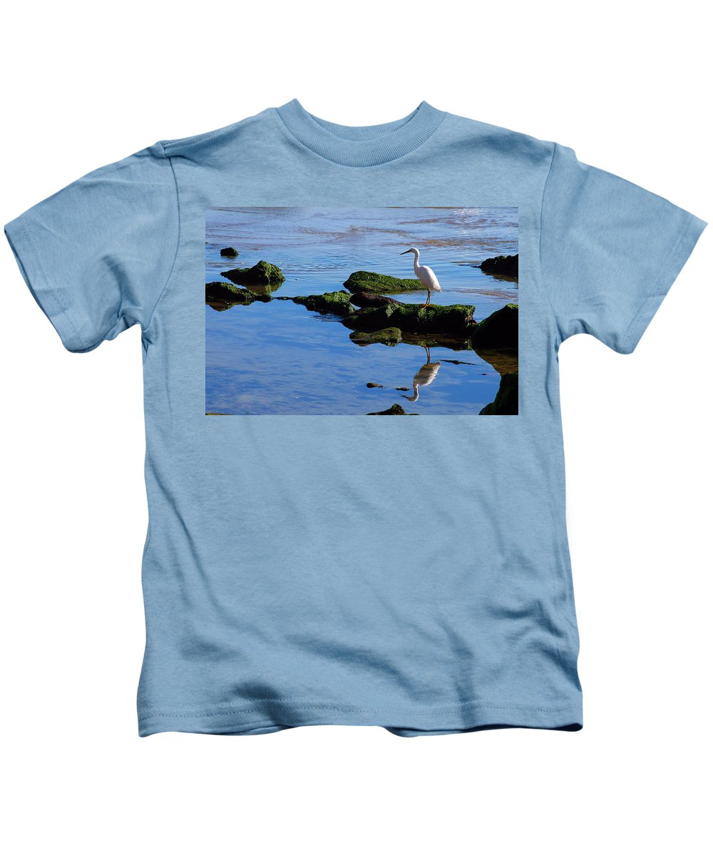 Clay Kids T-Shirt featuring the photograph Reflecting On Dinner by Clayton Bruster