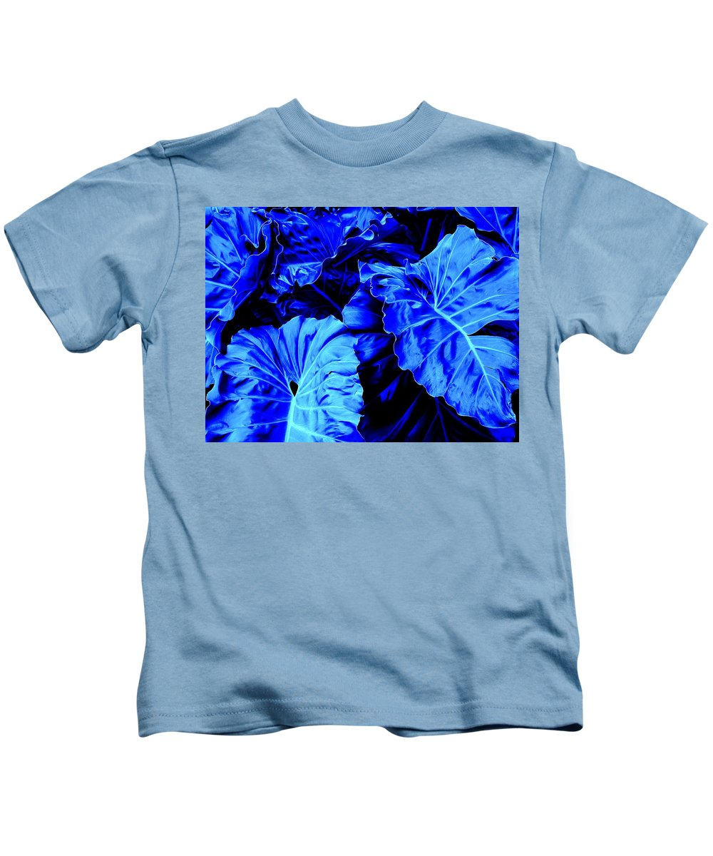Blue Kids T-Shirt featuring the photograph Romney Blue by Ian MacDonald