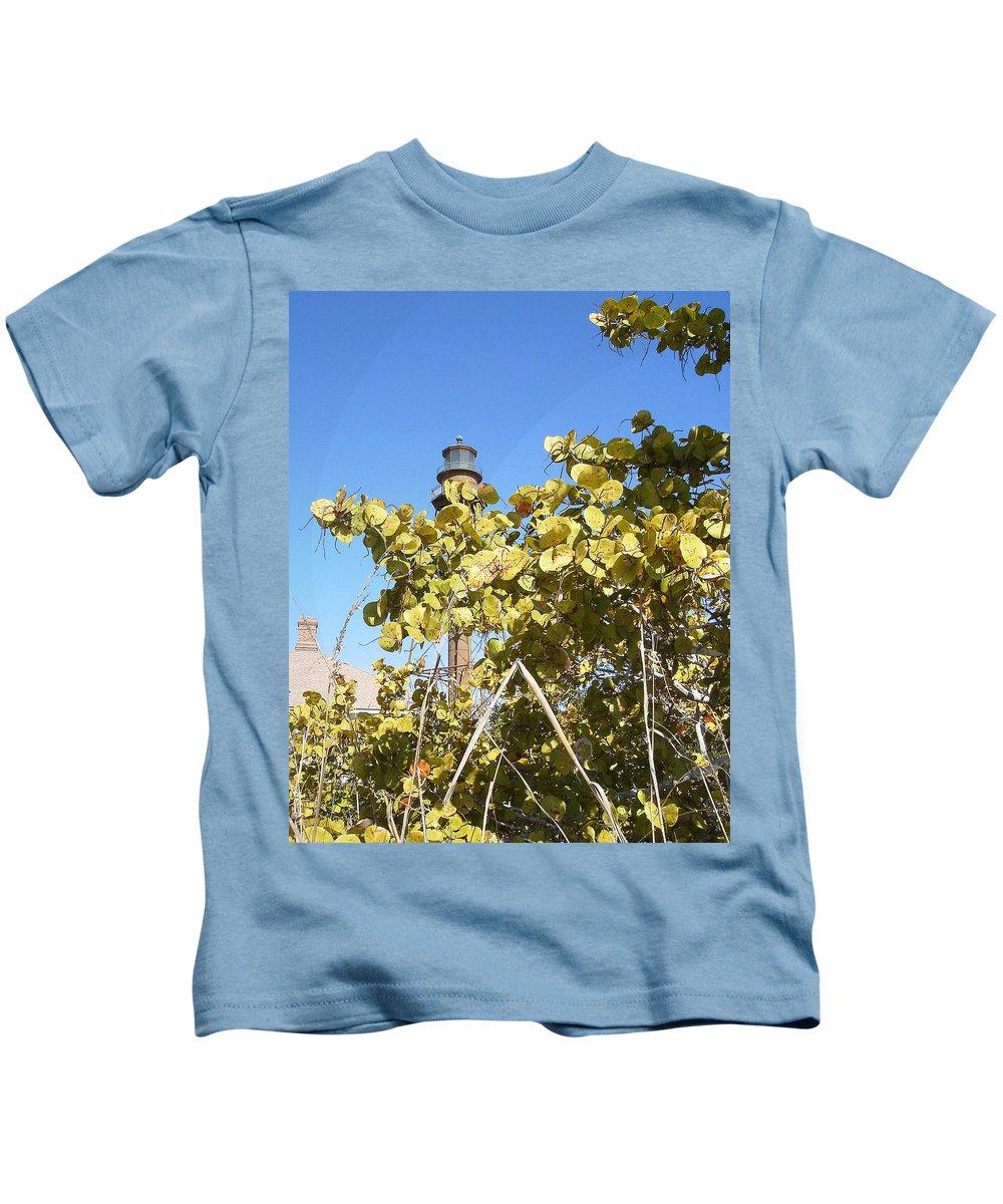 Florida Kids T-Shirt featuring the photograph Sanibel Lighthouse by Chris Andruskiewicz