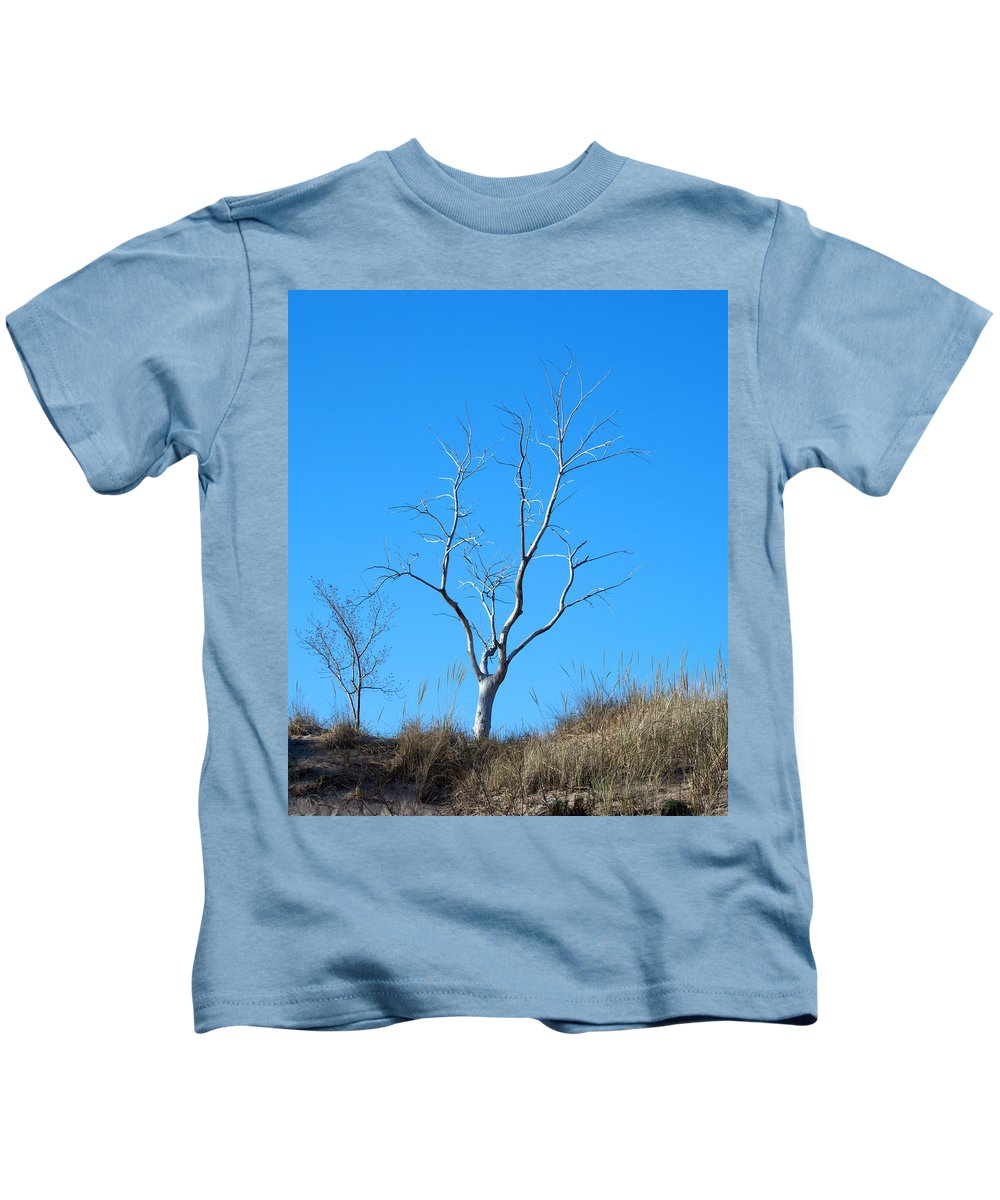 Tree Kids T-Shirt featuring the photograph Shimmering Tree by Linda Kerkau