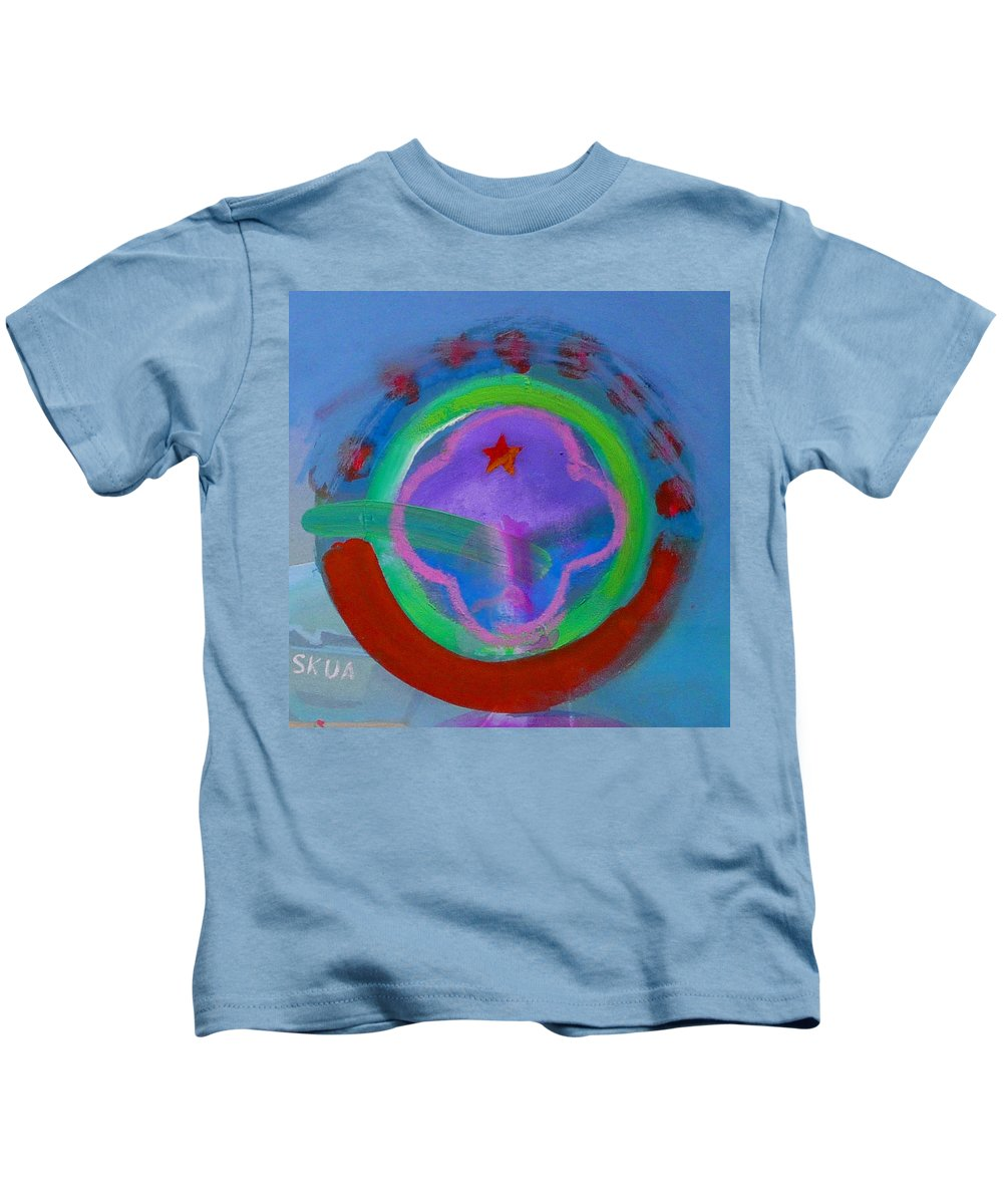 Love Kids T-Shirt featuring the painting Skua by Charles Stuart