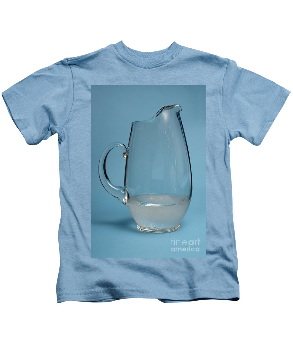 Snow Kids T-Shirt featuring the photograph Snow Melting 6 Of 7 by Ted Kinsman
