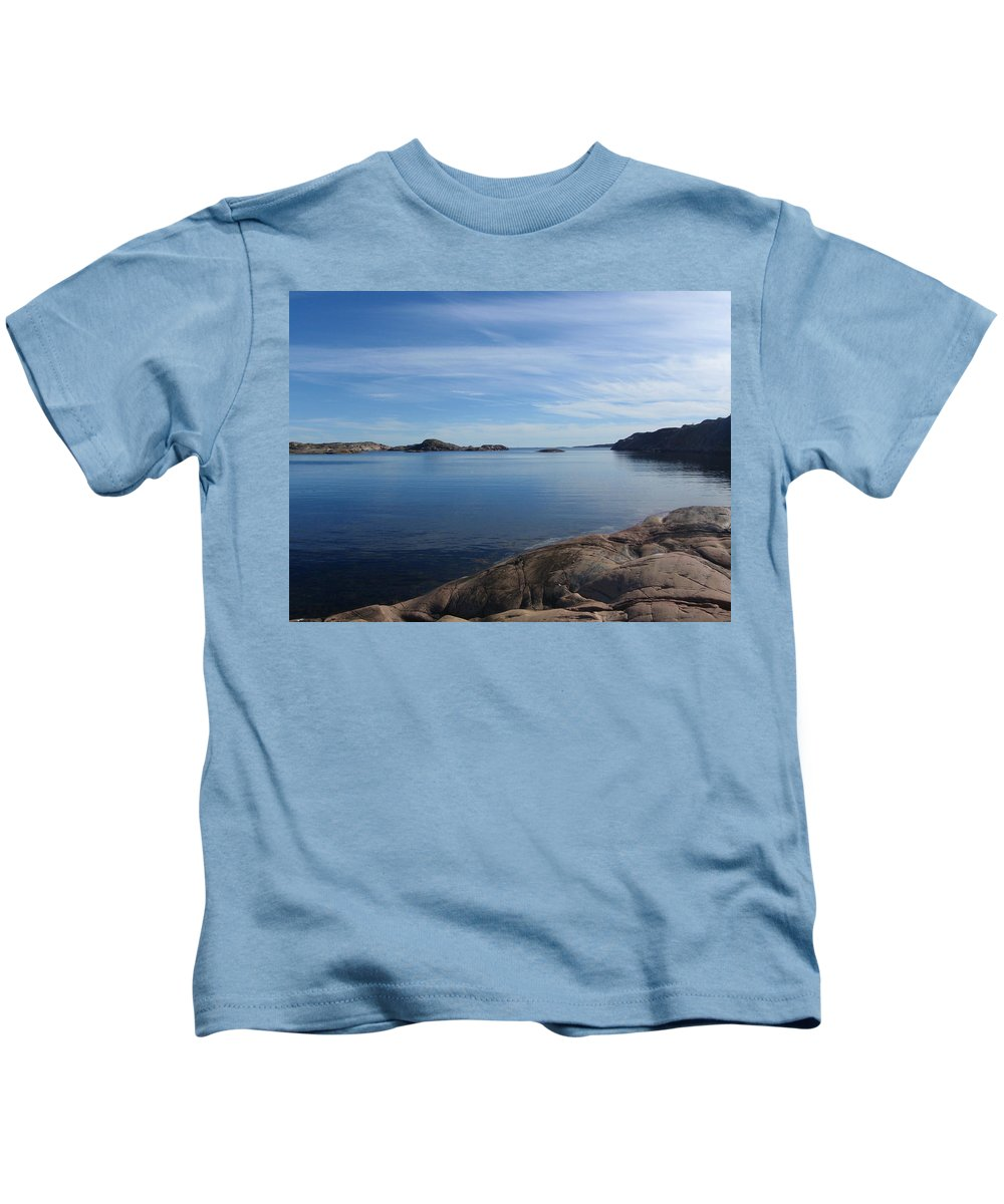 Vista Kids T-Shirt featuring the photograph Soon Afternoon by Are Lund