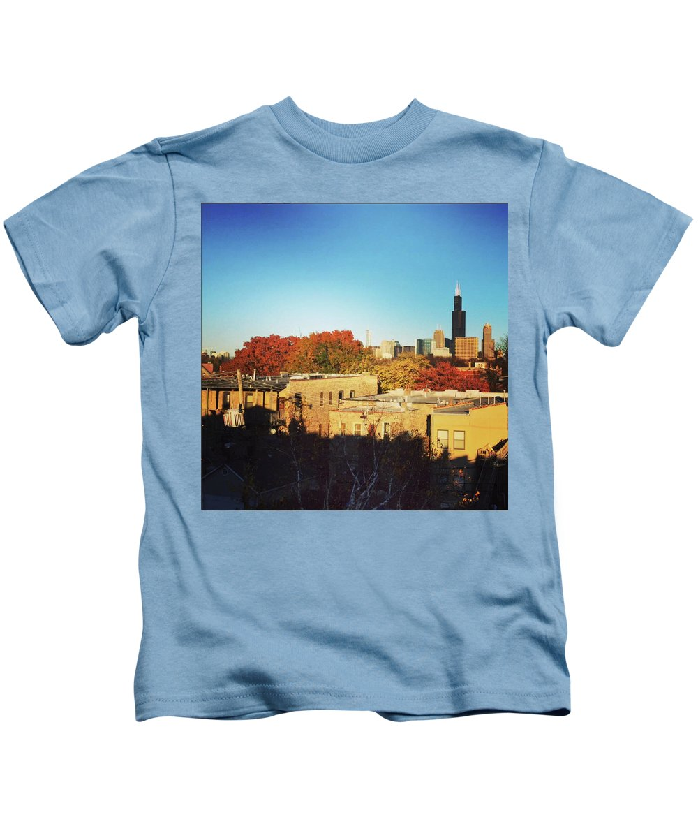 Landscape Kids T-Shirt featuring the photograph Sprin-time Chi by Piyush Jain