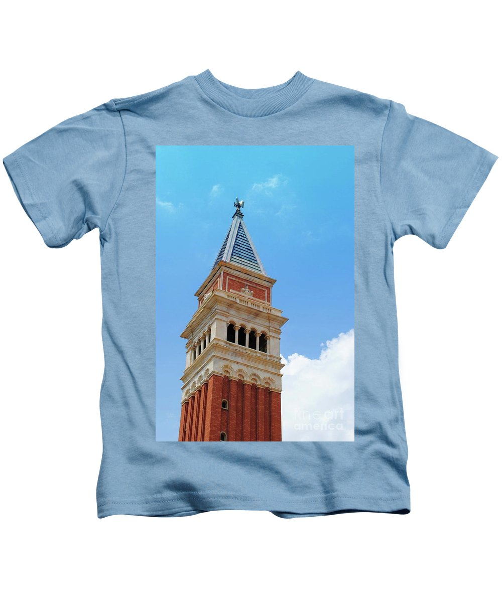 Saint Marks Kids T-Shirt featuring the photograph St. Marks by Jost Houk