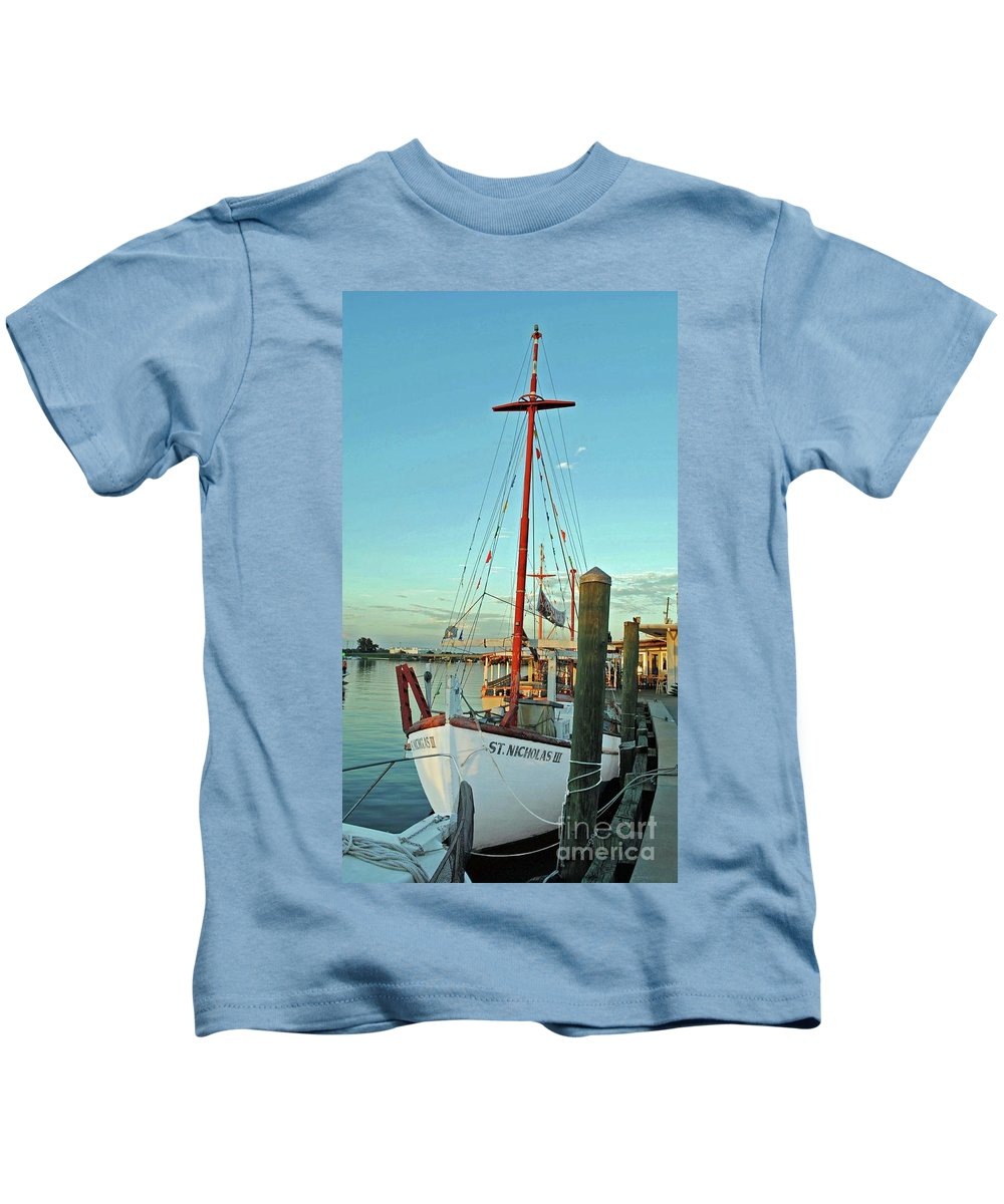 St Nick Kids T-Shirt featuring the photograph St. Nick by Jost Houk