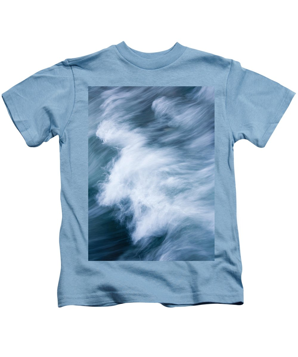 Wave Kids T-Shirt featuring the photograph Storm Driven by Mike Dawson
