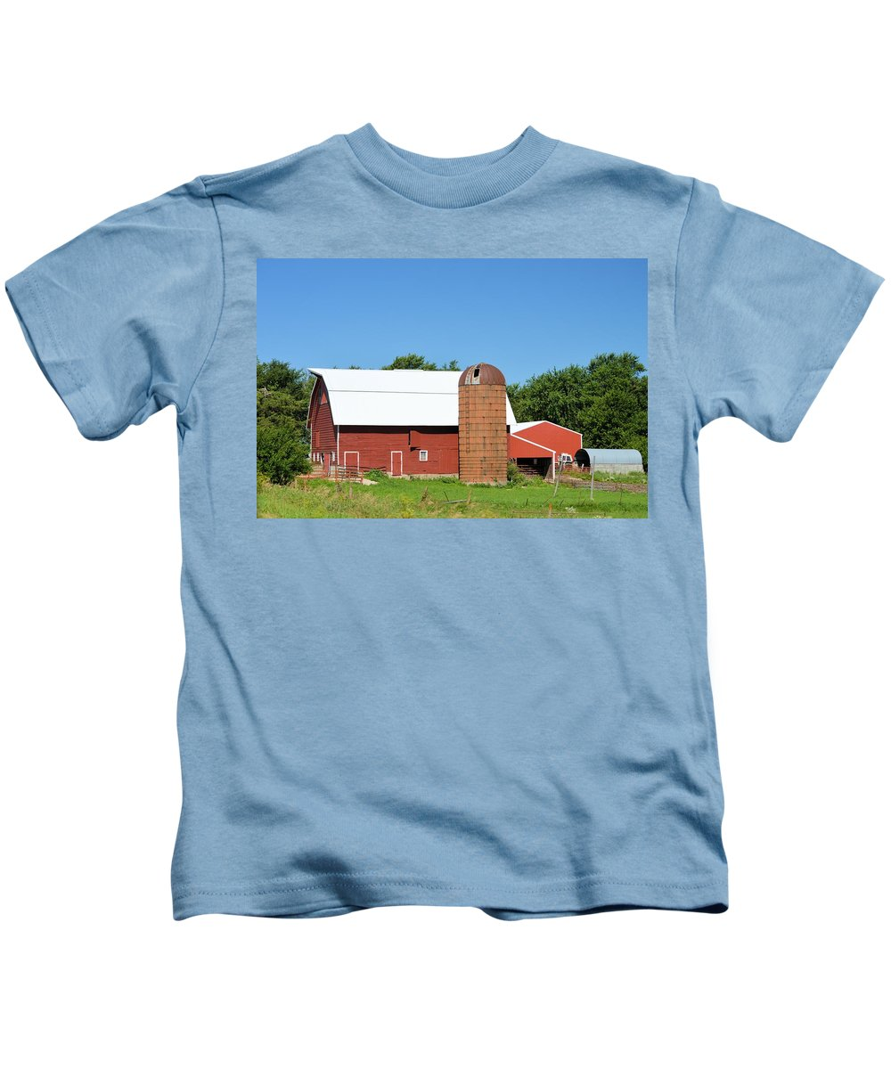 Summer Kids T-Shirt featuring the photograph Summer In Iowa by Bonfire Photography