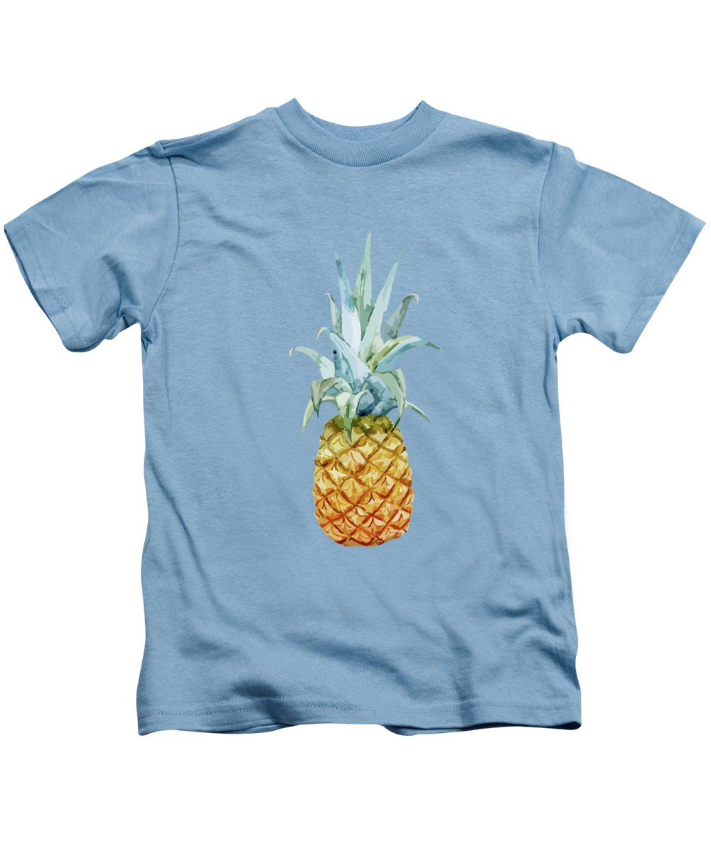 Summer Kids T-Shirt featuring the painting Summer by Mark Ashkenazi