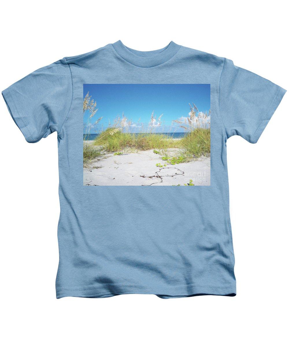 Florida Kids T-Shirt featuring the photograph Sunny Sanibel by Chris Andruskiewicz