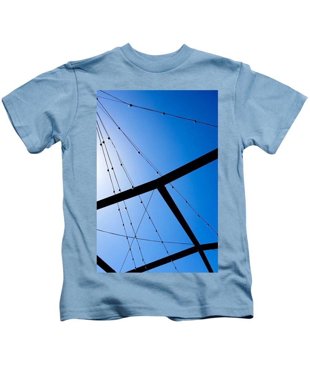 Sunset Kids T-Shirt featuring the photograph Sunset Geometry by Robert Meyers-Lussier