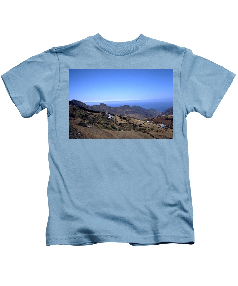 Tenerife Kids T-Shirt featuring the photograph Tenerife II by Flavia Westerwelle
