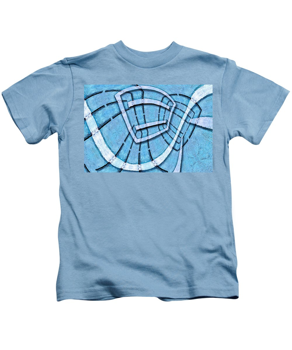 Photography Kids T-Shirt featuring the photograph The Blue Room by Paul Wear
