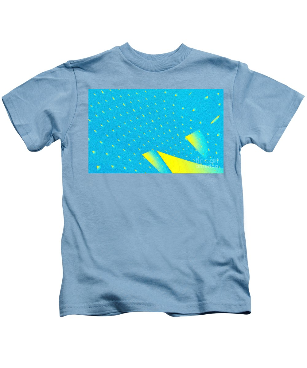 Clay Kids T-Shirt featuring the digital art The Illusion by Clayton Bruster