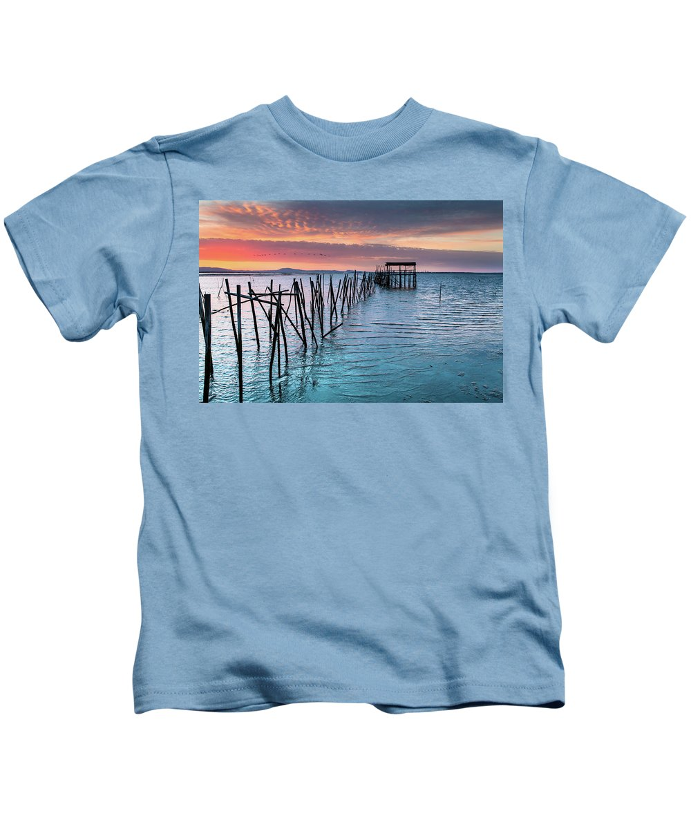 The Lost World Kids T-Shirt featuring the photograph The Lost World by Edgar Laureano