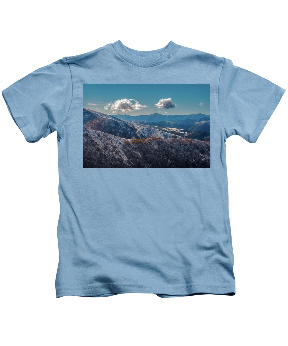 Cloud Kids T-Shirt featuring the photograph Transito by Luis Vilanova