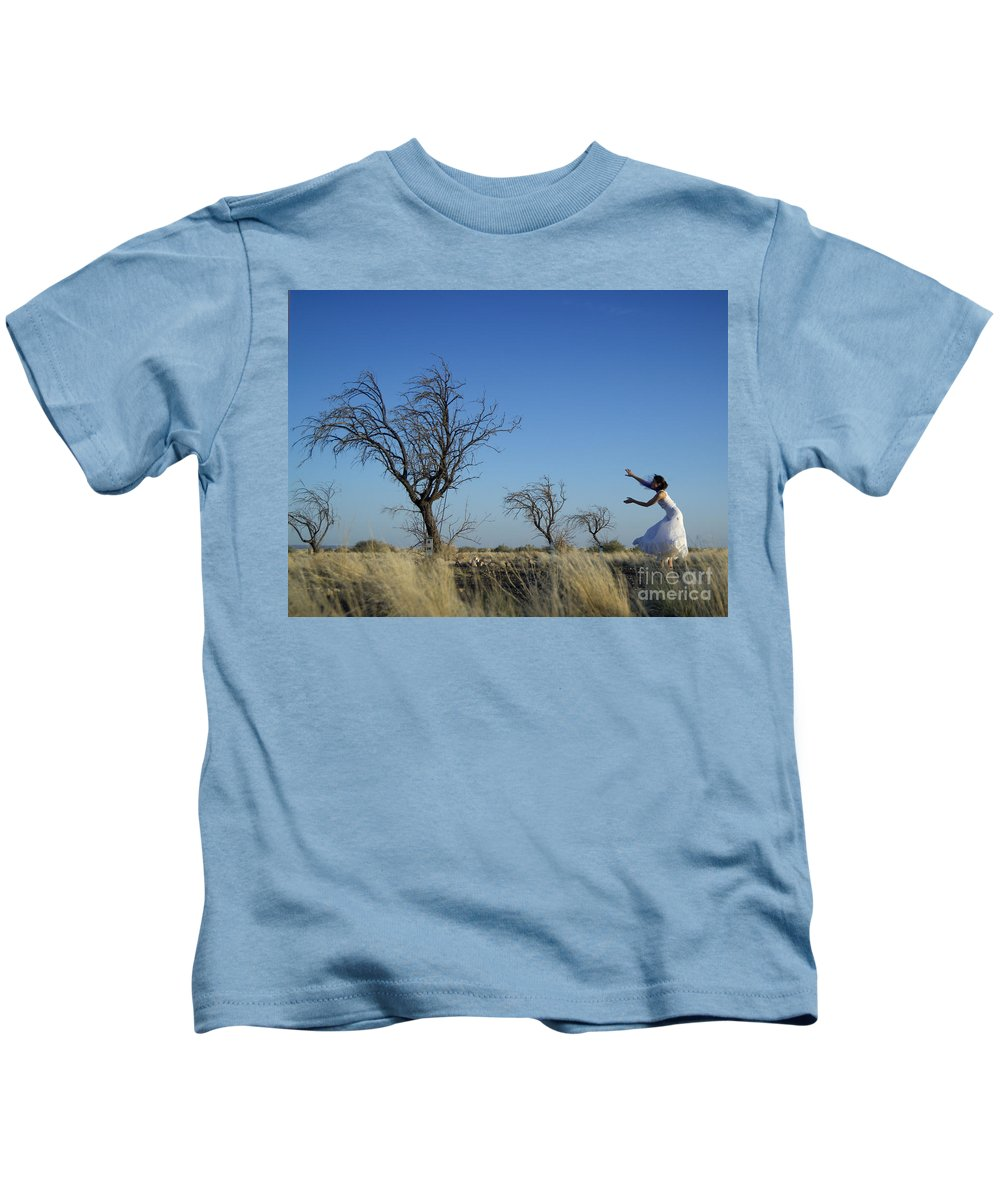 Landscape Kids T-Shirt featuring the photograph Tree Echo by Scott Sawyer