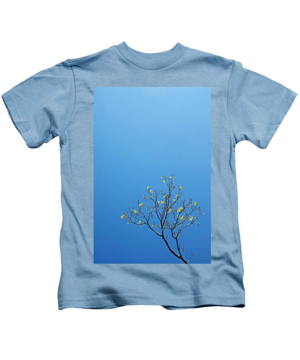 Tree Kids T-Shirt featuring the photograph Tree In Spring by Scott Sawyer