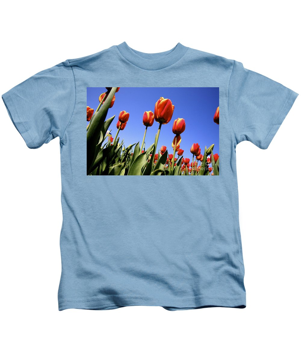 Tulips Kids T-Shirt featuring the photograph Tulips Time 3 by Robert Pearson
