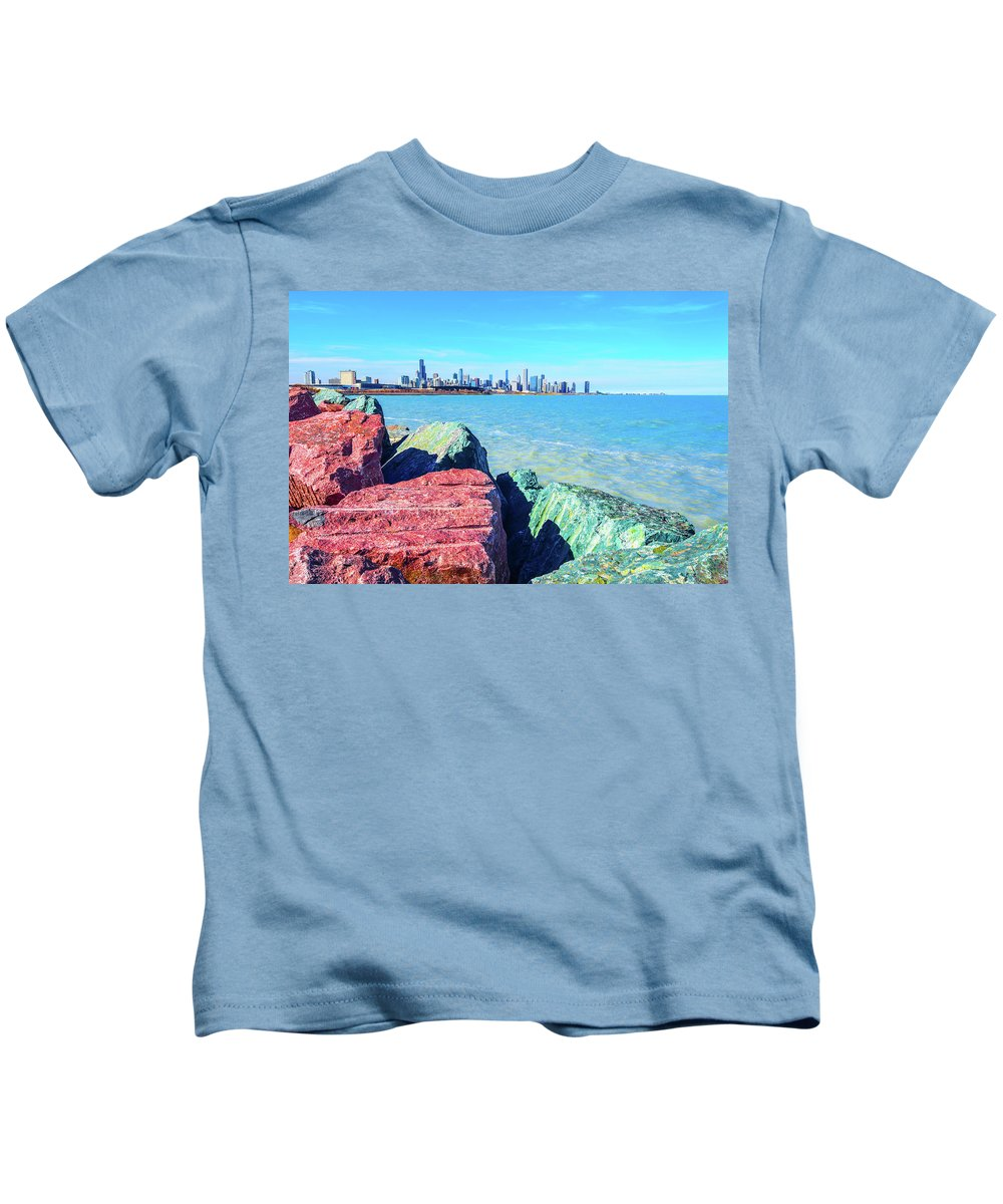 Summer Kids T-Shirt featuring the photograph Vibrant Summer Vibes by Eric Formato