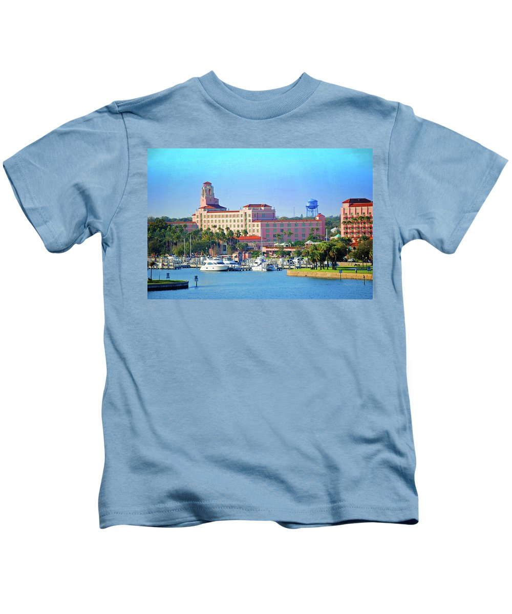 Vinoy Kids T-Shirt featuring the photograph Vinoy by Jost Houk