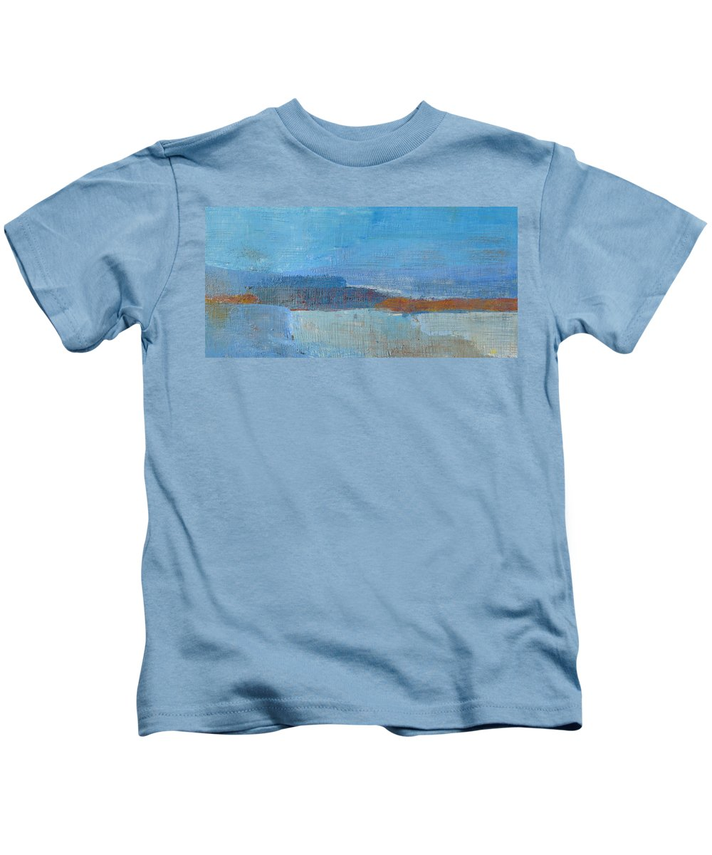 Abstract Kids T-Shirt featuring the painting Vision by Habib Ayat