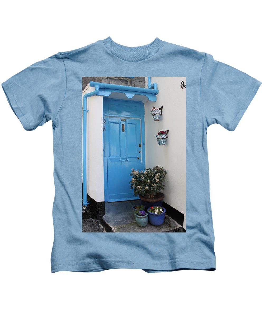 Door Kids T-Shirt featuring the photograph Welcome by Lauri Novak