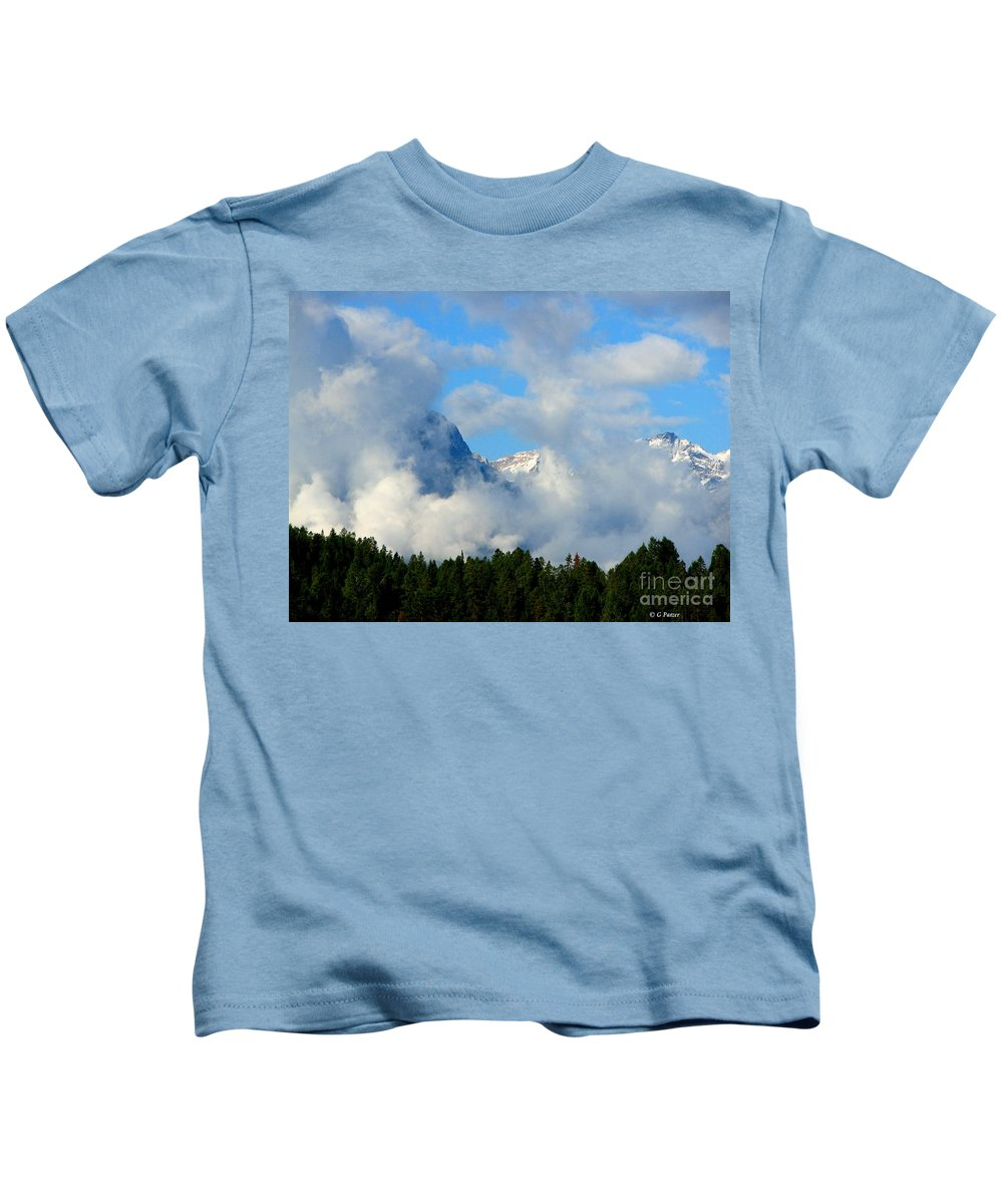 Art For The Wall...patzer Photography Kids T-Shirt featuring the photograph When Im Gone by Greg Patzer