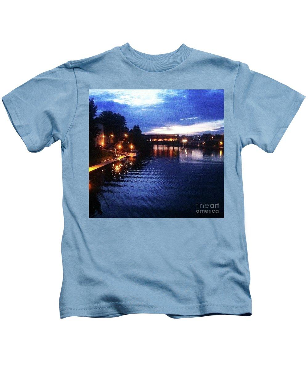 Kids T-Shirt featuring the photograph Sand Creek by Whitney Davison