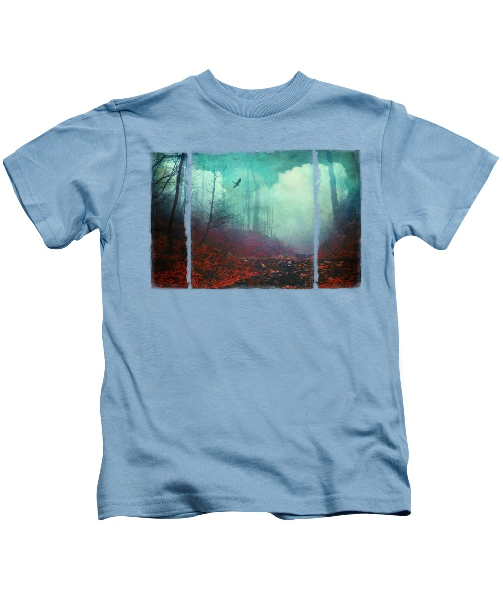 Surreal Kids T-Shirt featuring the photograph Secret Dreamland by Dirk Wuestenhagen