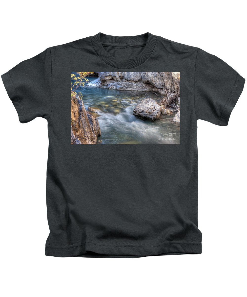 Marble Kids T-Shirt featuring the photograph 0143 Marble Canyon  by Steve Sturgill