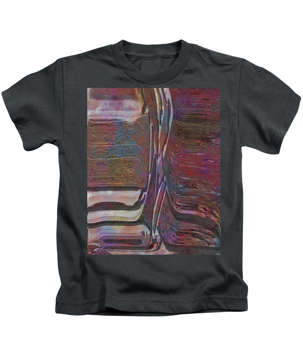 Abstract Kids T-Shirt featuring the digital art 0922 Abstract Thought by Chowdary V Arikatla