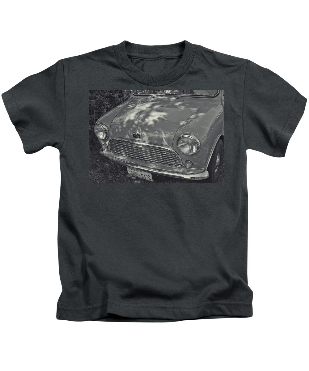Kids T-Shirt featuring the photograph Austin Healy by Cathy Anderson