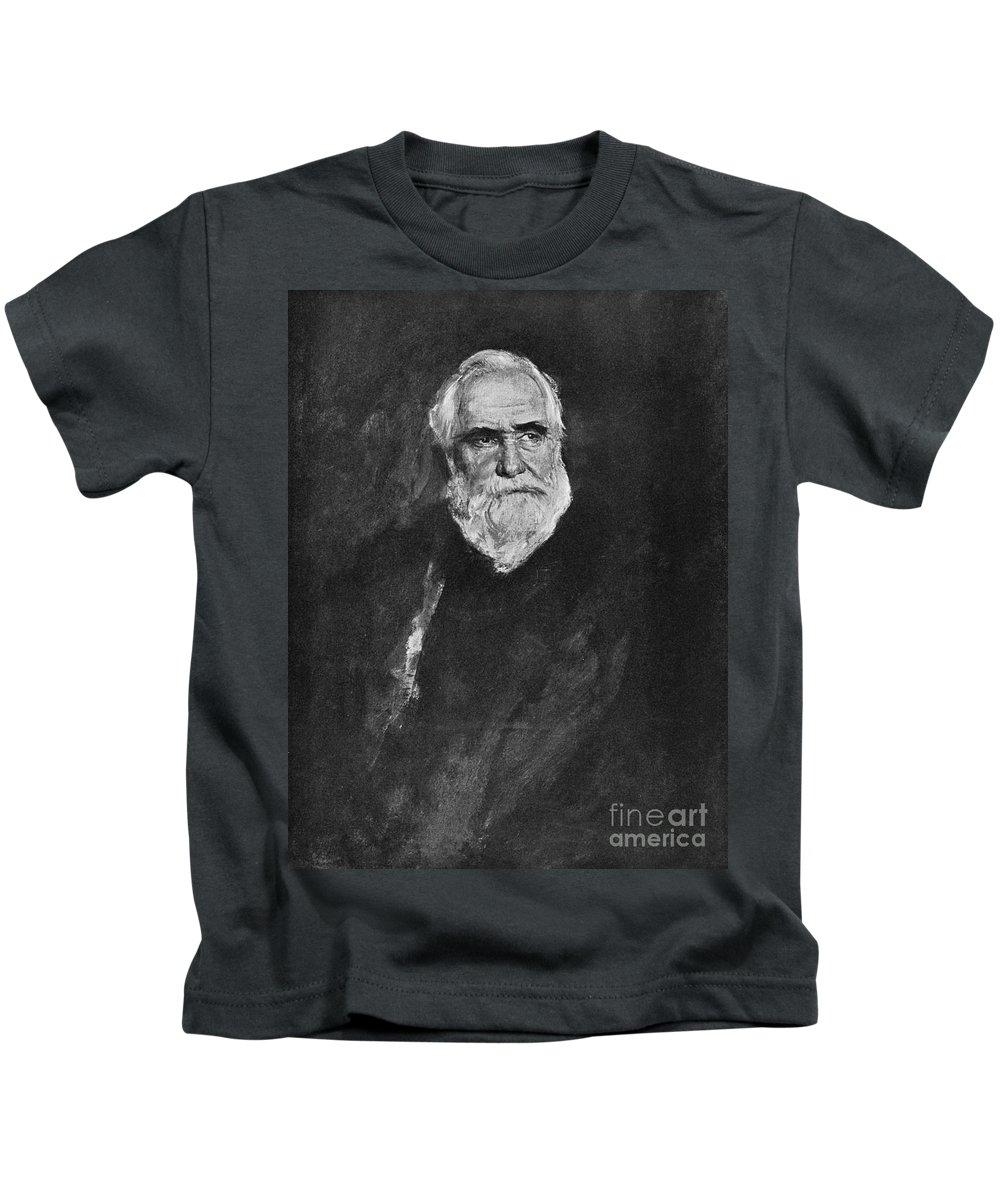 19th Century Kids T-Shirt featuring the photograph Max Von Pettenkofer by Granger