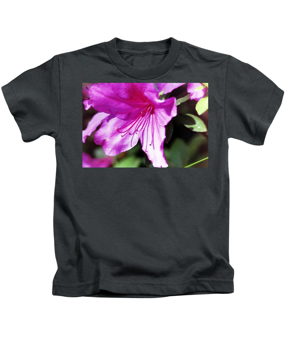 Flowers Kids T-Shirt featuring the photograph Purple Flower by Karl Rose