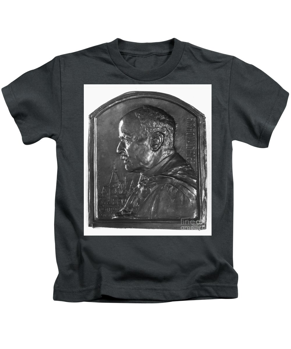19th Century Kids T-Shirt featuring the photograph Sir Ronald Ross (1857-1932) by Granger