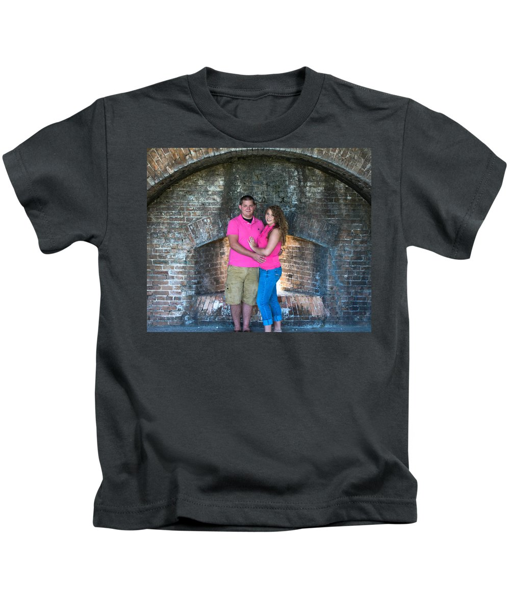 Portraits Kids T-Shirt featuring the photograph Stearns 2 by Mechala Matthews