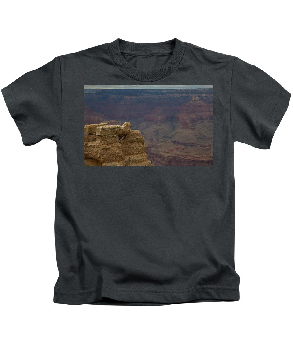 Sunrise Kids T-Shirt featuring the photograph The Grand Canyon by Kathleen Odenthal